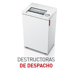 Destructoras de despacho (5 a 15 personas)