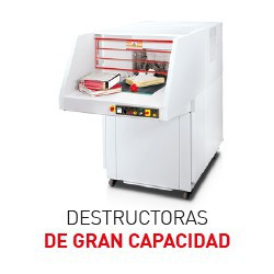Destructoras industriales