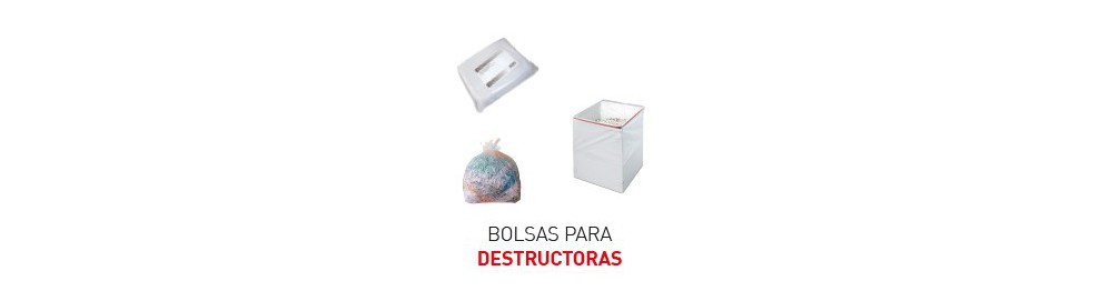 Bolsas para destructoras IDEAL