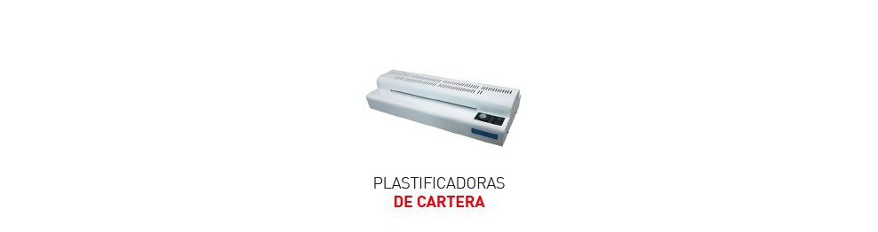 Plastificadoras de Documentos de Cartera